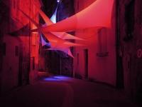 Installation textile aérienne 9