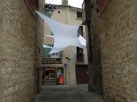 Installation textile aérienne 22