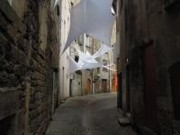 Installation textile aérienne 23