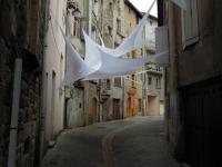Installation textile aérienne 24