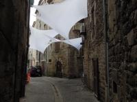 Installation textile aérienne 25