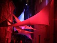 Installation textile aérienne 2