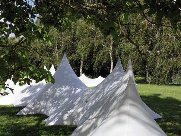 Dunes de lycra tendu blanc festival de musique